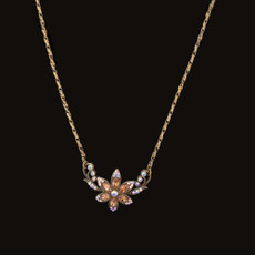 Michal Negrin Pretty In Jewels Honey Flower Necklace