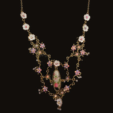 Michal Negrin Viva Flower Blanko Necklace