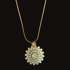 Michal Negrin Dripping In Jewels Necklace
