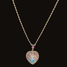 Michal Negrin Victorian Heart Necklace