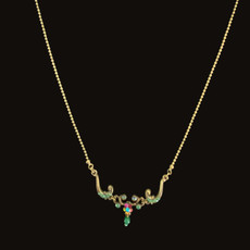 Michal Negrin Girls Adore Swarovski Crystals Necklace