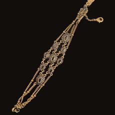 Michal Negrin Added Sparkle Black Crystal Bracelet
