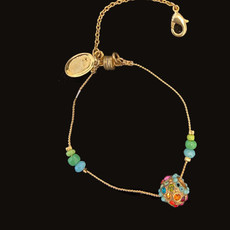 Michal Negrin Charm Multi Color Best Friend Bracelet