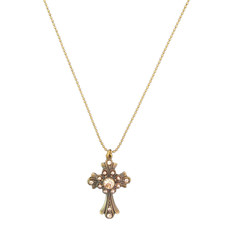 Michal Negrin Swarovski Crystals Faith Cross