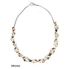 Dganit Hen Pearls Field Necklace