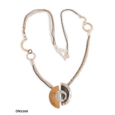 Dganit Hen Jupiter Long Necklace