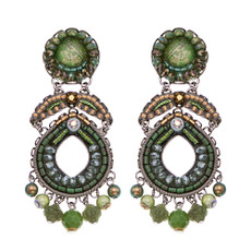 Ayala Bar Green Moonlight Better Days Earrings