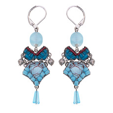 Ayala Bar Turquoise Horizon Under the Sea Earrings