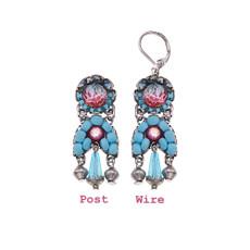 Ayala Bar Turquoise Horizon Double Trouble Earrings