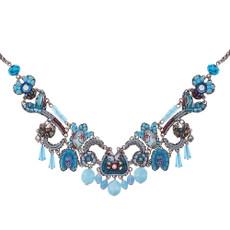 Ayala Bar Turquoise Horizon Cold Blues Necklace