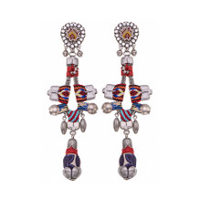 Ayala Bar Indian Guirlande Fading Colors Earrings