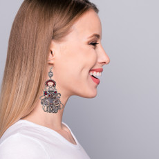 Ayala Bar Indian Guirlande Higher Love Earrings