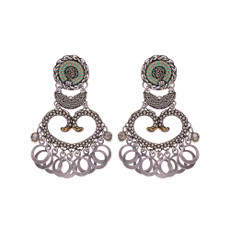 Ayala Bar Metal Light Runaway Earrings