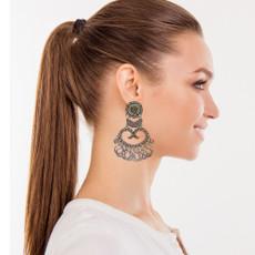 Ayala Bar Metal Light Runaway Earrings