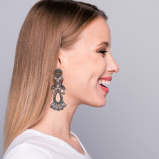 Ayala Bar Metal Light Come a Little Closer Earrings