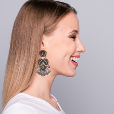 Ayala Bar Metal Light Be Mine Earrings