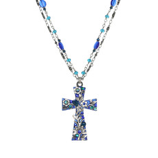 Michal Golan Cerulean Faith Necklace