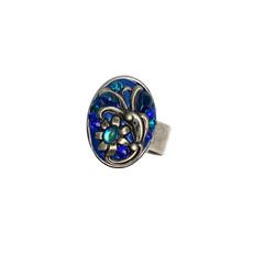 Michal Golan Cerulean Sunday Best Adjustable Ring