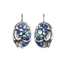 Michal Golan Cerulean Sunday Best Wire Earrings