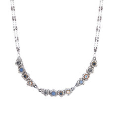 Michal Golan Blue Frost Collar Necklace