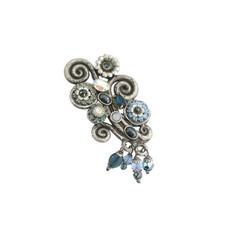 Michal Golan Blue Frost Garden Pin