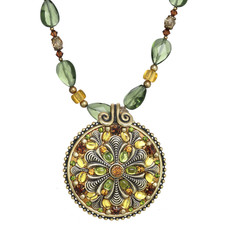 Michal Golan Arcadia Medallion Necklace