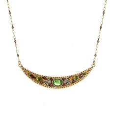 Michal Golan Arcadia Thin Crescent Necklace