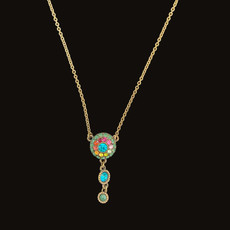 Michal Negrin Dazzle Dreams Multi Bright Necklace