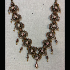 Michal Negrin Victorian Rose Necklace