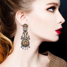 Ayala Bar Tender Love Gray Sparkle Earrings