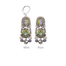 Ayala Bar Solid Days Gray Sparkle Earrings