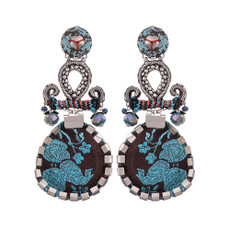 Ayala Bar Cloud Study Blue Space Earrings