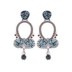 Ayala Bar Amanda Blue Space Earrings