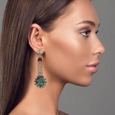 Ayala Bar Mirrors Blue Space Earrings