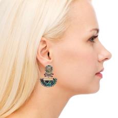 Ayala Bar Luminous Blue Space Earrings