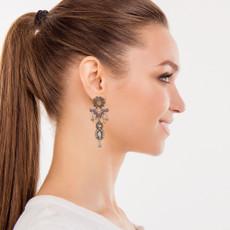 Ayala Bar Treasures Metal Roots Earrings