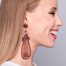 Ayala Bar  Gold Signature Core Earrings