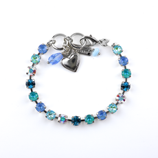 Mariana Petite Everyday Bracelet in Tranquil Rhodium