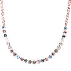 Mariana Must Have Rosette Necklace in Earl Grey