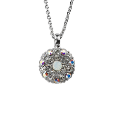 Mariana Guardian Angel Pendant in On a Clear Day Rhodium