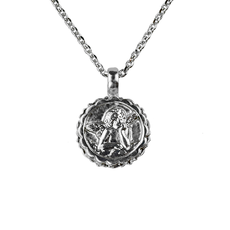 Mariana Guardian Angel Pendant Forever Young Rhodium