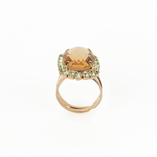 Mariana Oval Cluster Ring in Monarch