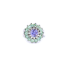 Mariana Must Have Rosette Ring in Matcha