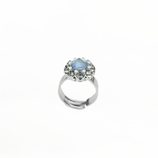 Mariana Cluster Ring in Blue Morpho