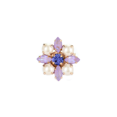 Mariana Marquise and Round Adjustable Ring in Romance