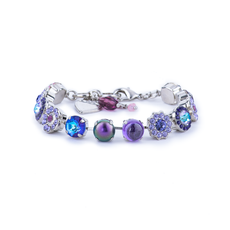 Mariana Lovable Rosette Bracelet in Wildberry