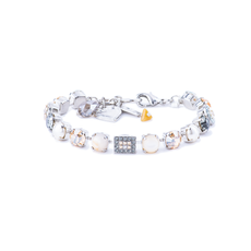Mariana Must Have Cluster and Pave Bracelet in Earl Grey