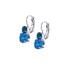 Mariana Must Have Double Stone Leverback Earrings in Sleepytime