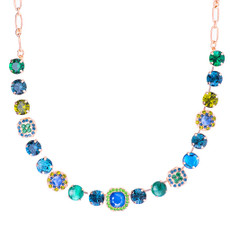 Mariana Lovable Square Cluster Necklace in Chamomile