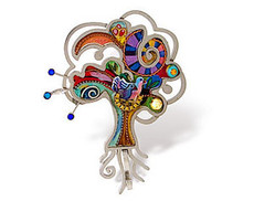Judaica Pin Trees Of Life - One Left